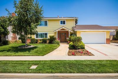 Camarillo Single Family Home For Sale: 1861 Bronson Street