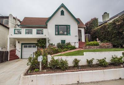 Ventura CA Single Family Home For Sale: $1,100,000