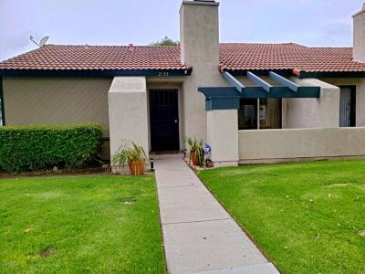 Oxnard CA Condo/Townhouse Active Under Contract: $314,900