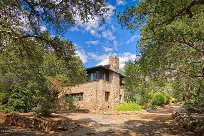 Ojai Single Family Home For Sale: 4255 Thacher Road