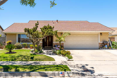 Oxnard Single Family Home For Sale: 1811 S El Dorado Avenue E