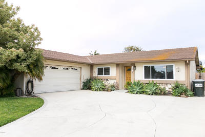 Oxnard Single Family Home Active Under Contract: 4500 Anchorage Street