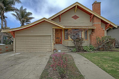 Ventura Single Family Home Active Under Contract: 1739 San Nicholas Street