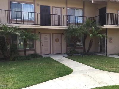 Oxnard CA Condo/Townhouse For Sale: $185,000