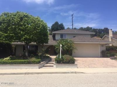 Ventura Single Family Home For Sale: 6375 Chaffee Street