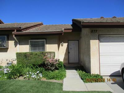 Thousand Oaks Condo/Townhouse For Sale: 877 Warwick Avenue