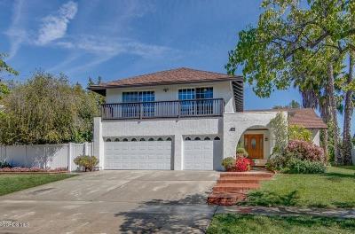 Thousand Oaks Single Family Home For Sale: 187 W Sidlee Street