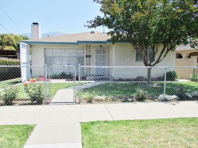 Santa Paula Single Family Home For Sale: 1112 New Street