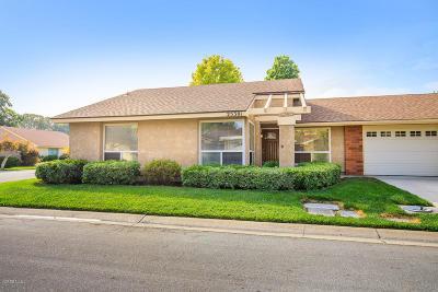 Camarillo Single Family Home Active Under Contract: 25301 Village 25