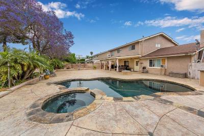 Camarillo Single Family Home Active Under Contract: 1075 Agusta Avenue
