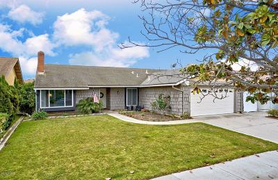 Oxnard Single Family Home Active Under Contract: 1440 Magnolia Avenue