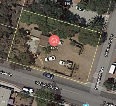 Ojai Single Family Home Active Under Contract: 418 W El Roblar Drive