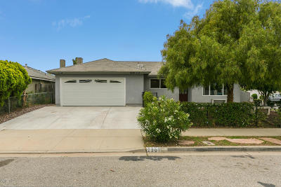 Oxnard Single Family Home Active Under Contract: 2301 Beaufort Drive