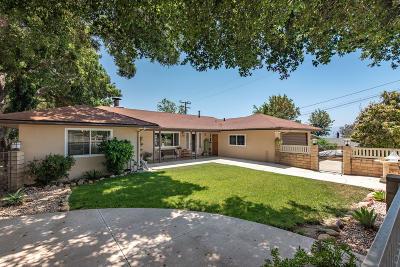 Fillmore Single Family Home For Sale: 1190 Oak Avenue