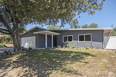 Ojai Single Family Home Active Under Contract: 922 Ayers Avenue