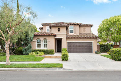 Camarillo Single Family Home Active Under Contract: 3262 Bridgehampton Way