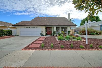 Oxnard Single Family Home For Sale: 1100 Lodgewood Way
