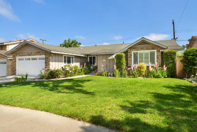Oxnard Single Family Home Active Under Contract: 531 Kentwood Drive