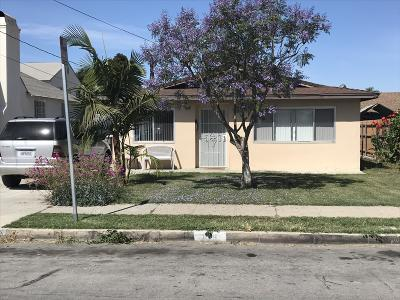 Santa Paula Single Family Home Active Under Contract: 208 S 4th Street