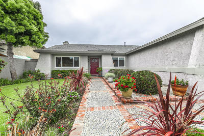 Oxnard Single Family Home Active Under Contract: 1011 Devilfish Drive