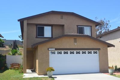 Ventura Single Family Home For Sale: 10175 Willamette Street