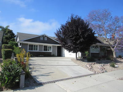 Ventura Single Family Home Active Under Contract: 8372 Eureka Street