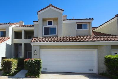 Camarillo Condo/Townhouse For Sale: 6053 Paseo Encantada