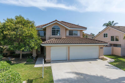 Oxnard Single Family Home For Sale: 2620 Volcano Court
