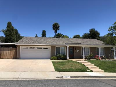 Newbury Park Single Family Home Active Under Contract: 640 Barrington Court