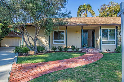 Ventura Single Family Home For Sale: 378 Ridgeway Place