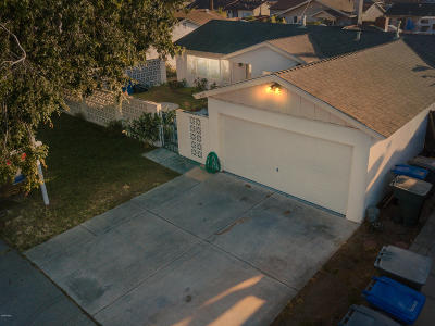 Oxnard Single Family Home Active Under Contract: 3015 Lassen Street
