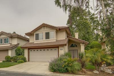 Ventura County Condo/Townhouse For Sale: 615 Overlook Road