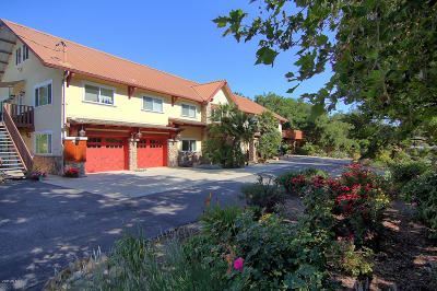 Ojai Single Family Home For Sale: 1442 S Rice Road