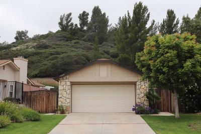 Moorpark Single Family Home For Sale: 14677 Loyola Street