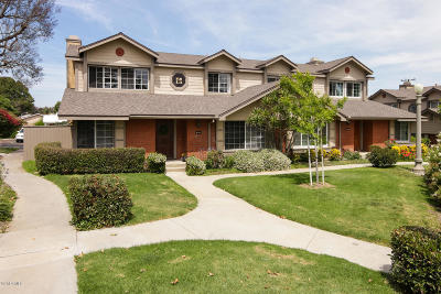 Ventura County Condo/Townhouse For Sale: 1842 Topaz Avenue