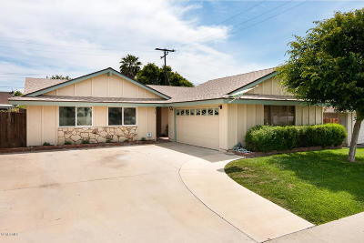 Ventura Single Family Home For Sale: 978 Gardner Avenue