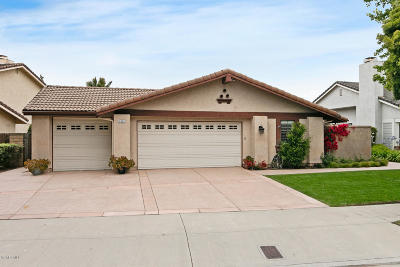 Oxnard Single Family Home Active Under Contract: 1954 Spyglass Trail W