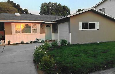 Camarillo Single Family Home For Sale: 90 Fir Street