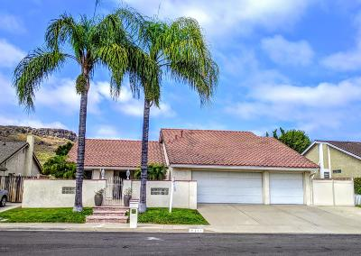 Thousand Oaks Single Family Home For Sale: 711 Bluebonnet Court