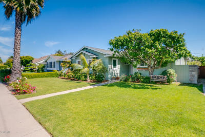 Oxnard Single Family Home Active Under Contract: 1200 Douglas Avenue