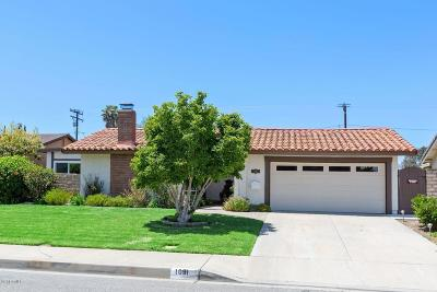 Camarillo Single Family Home For Sale: 1091 Dara Street