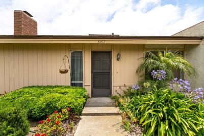 Ventura Condo/Townhouse For Sale: 5162 Teton Lane