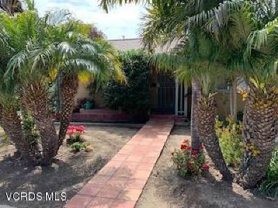 ventura Single Family Home For Sale: 125 S Santa Rosa Street