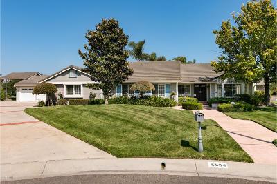 Camarillo Single Family Home Active Under Contract: 6884 Aviano Drive