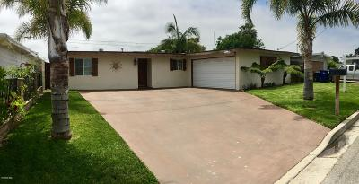Oxnard Single Family Home For Sale: 728 Helsam Avenue