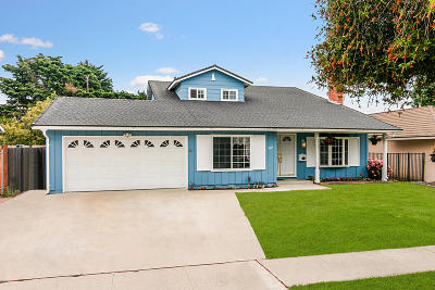 Ventura Single Family Home Active Under Contract: 1660 Swift Avenue