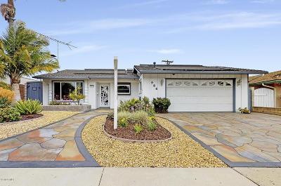 Ventura Single Family Home Active Under Contract: 986 Albany Avenue