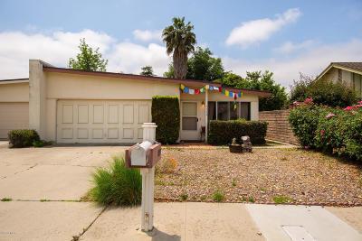 Ojai Single Family Home Active Under Contract: 1139 Anita Avenue