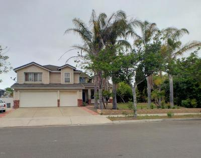 Oxnard Single Family Home Active Under Contract: 2557 Northbrook Drive