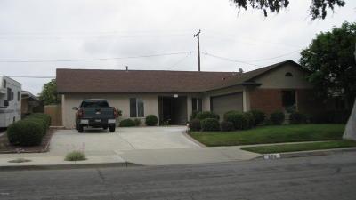 Ventura Single Family Home For Sale: 696 Montgomery Avenue